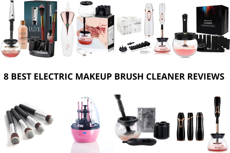 8 BEST ELECTRIC MAKEUP BRUSH CLEANER REVIEWS (2020)