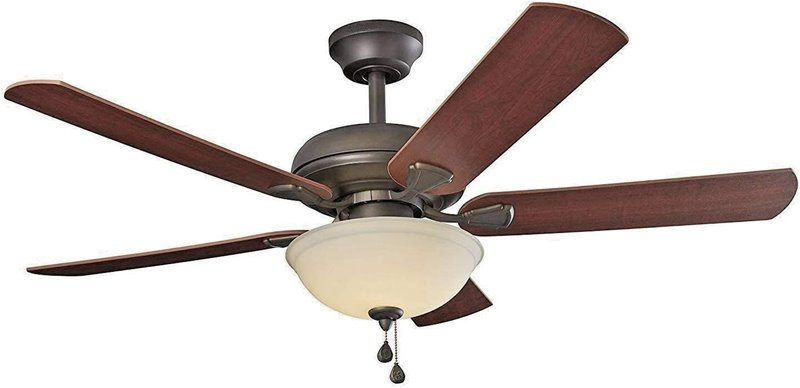 bedroom-ceiling-fan-with-light-Energy-Efficient-52-Inch-LED-Ceiling-Fan-with-Nutmeg-Espresso-Blades-and-White-Glass-Light-Bowl